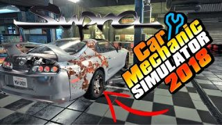 Restoring an Abandoned Toyota SUPRA Found in a Barn!!! Car Mechanic Simulator 2018 2JZ Goodness