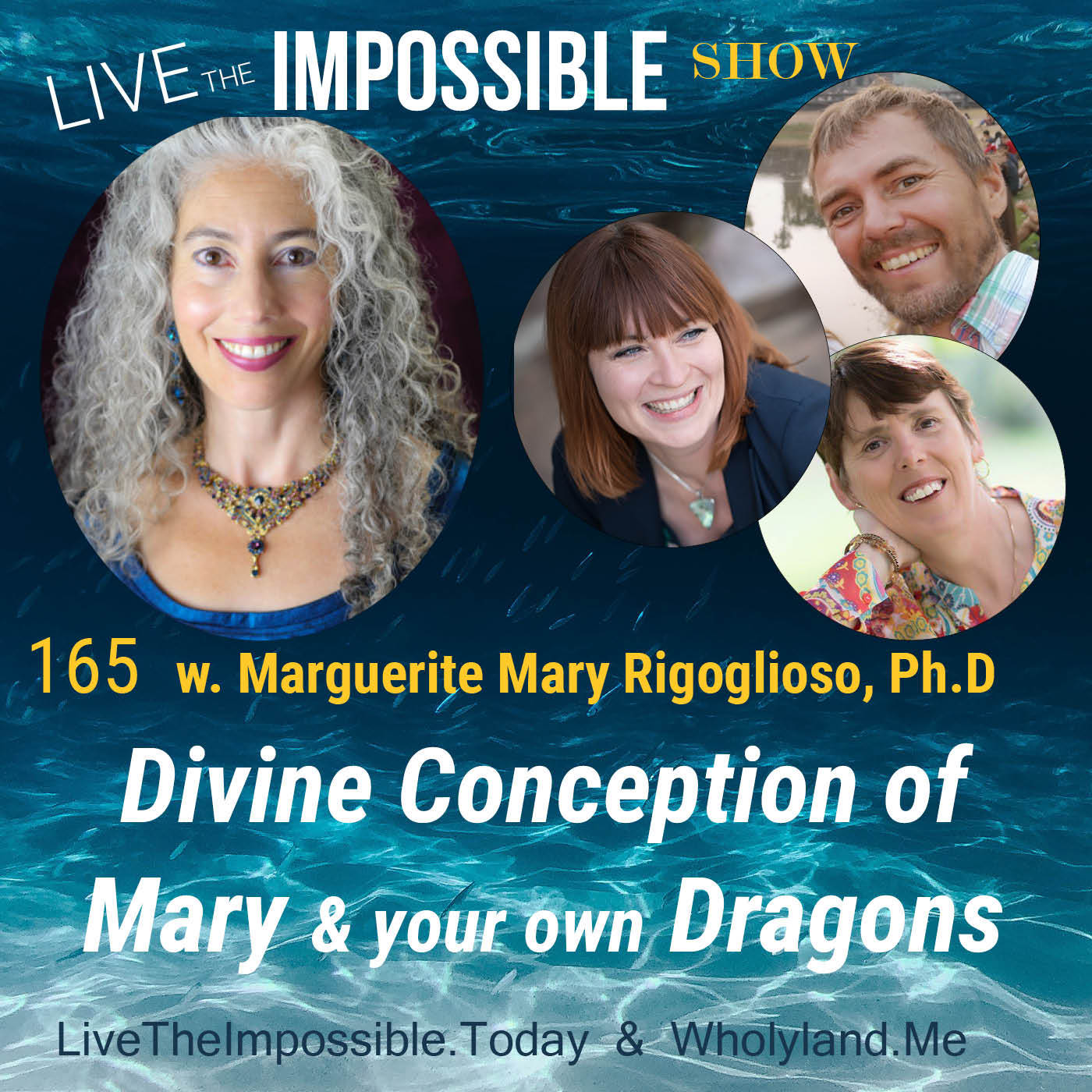 Divine Conception of Mary and your own Dragons w. Marguerite Mary Rigoglioso Ph.D