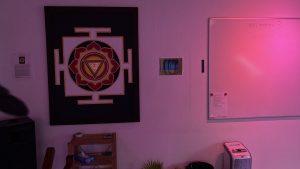 Huset i billeder * Stjernesalen hygge lys