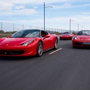 Kør Ferrari i Århus eller København