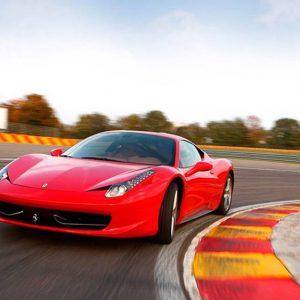 Prøv en Ferrari på Jyllandsringen