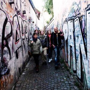 Guidet tur med en hjemløs i Århus