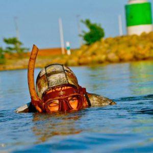 Undervandsjagt i Århus