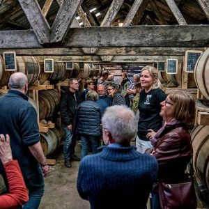 Stauning whiskysmagning og rundvisning