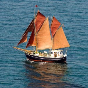 Sejl med sejlskibet Aventura i Lillebælt