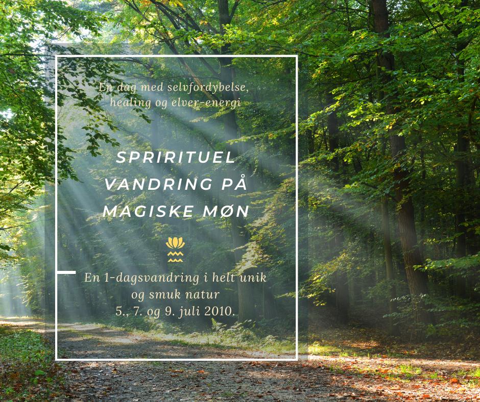 En spirituel vandring på magiske Møn