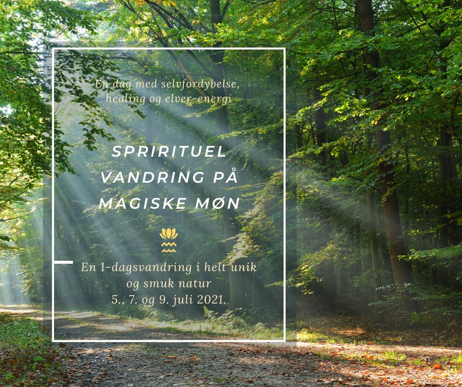En spirituel vandring på magiske Møn - Livskunst