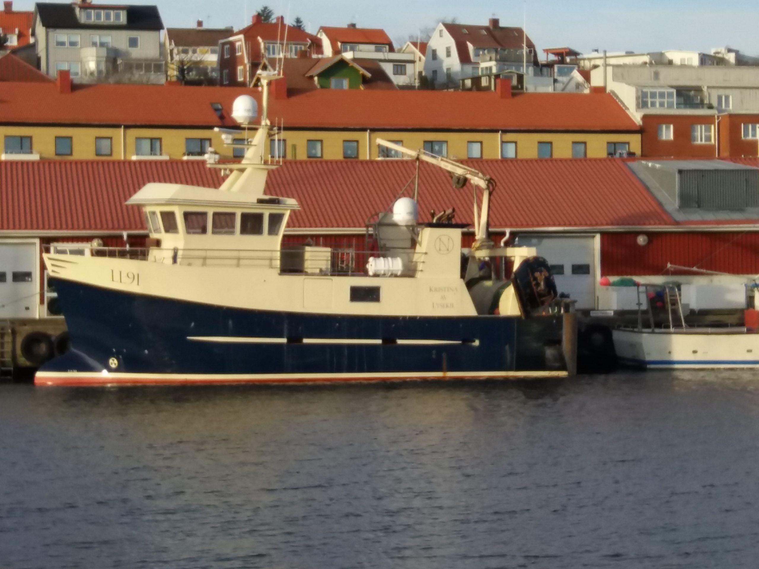 LL91 Kristina i hamn