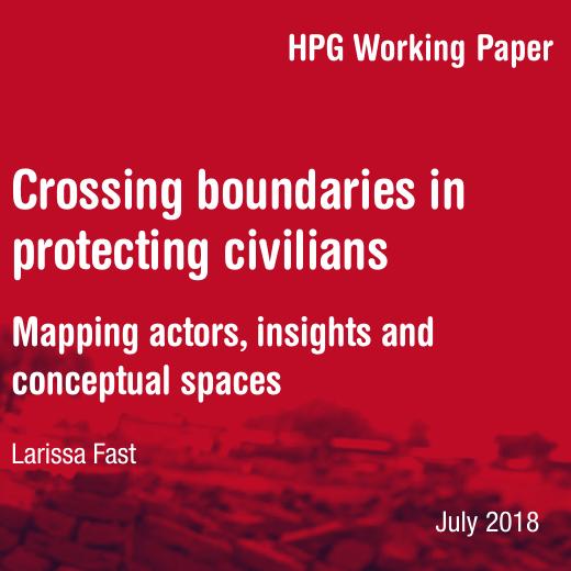 Crossing boundaries in protecting civilians Image