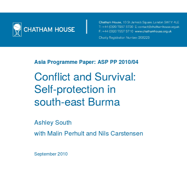 Conflict and Survival: Self-protection in South-East Burma Image