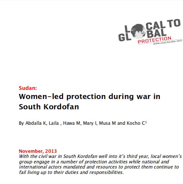 Women-led protection in South Kordofan, Sudan Image