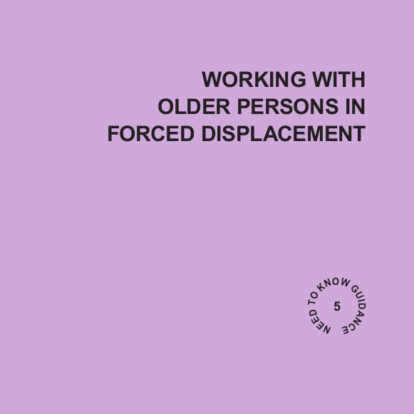Working with Older Persons in Forced Displacement Image