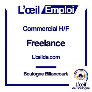 Commercial H/F Boulogne
