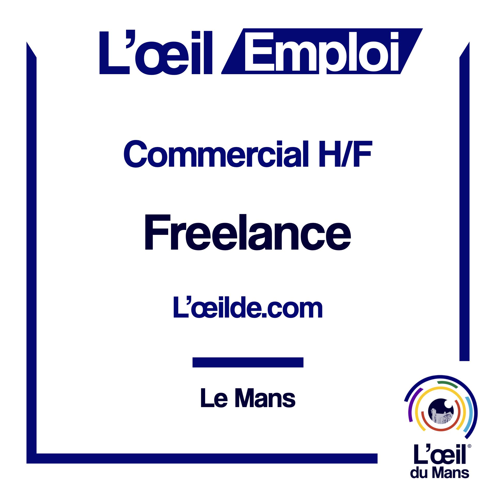 Commercial au Mans pour l'oeilde.com