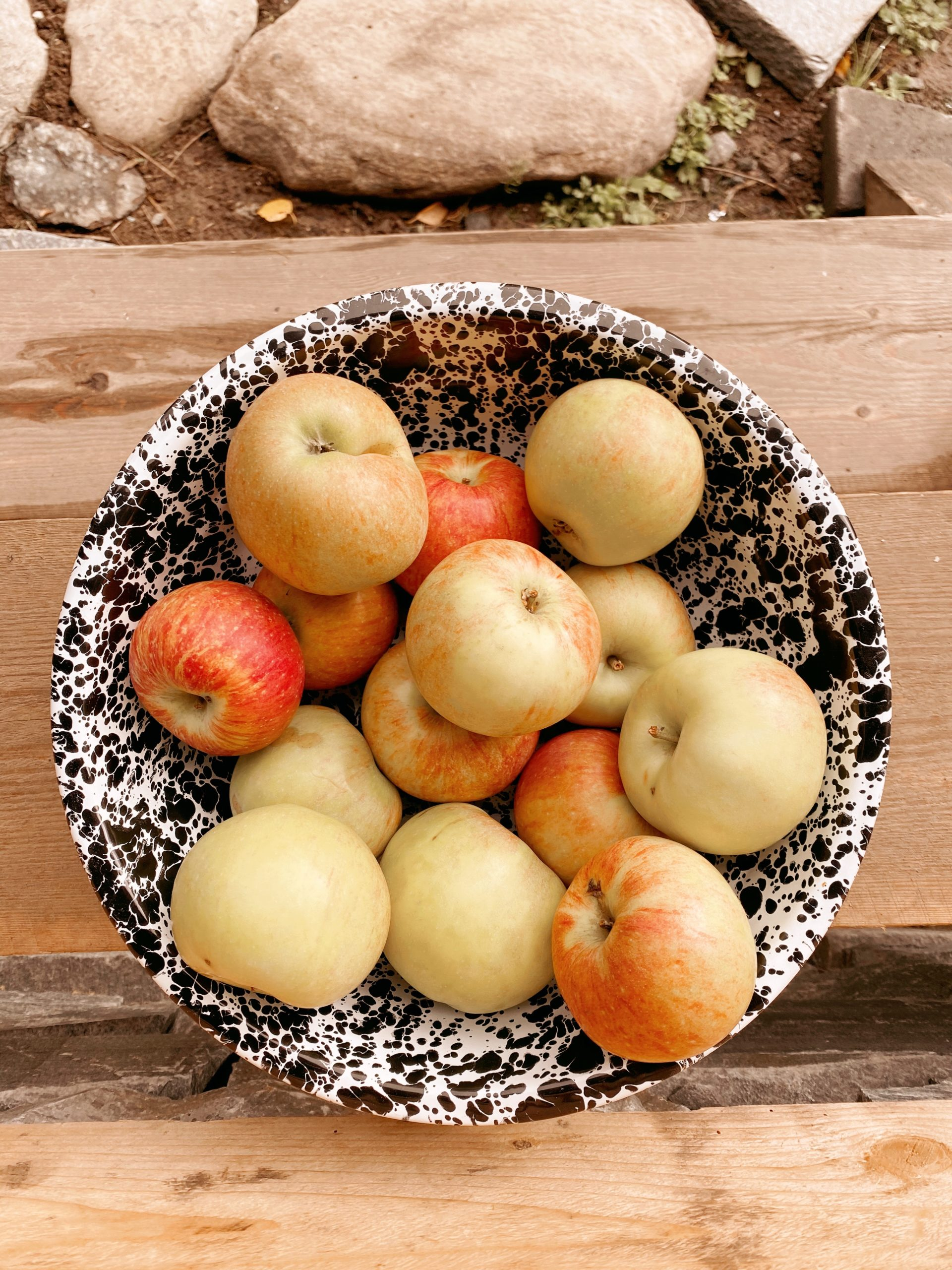 Log Cabin Lady - Three Things Friday - Fall Apples