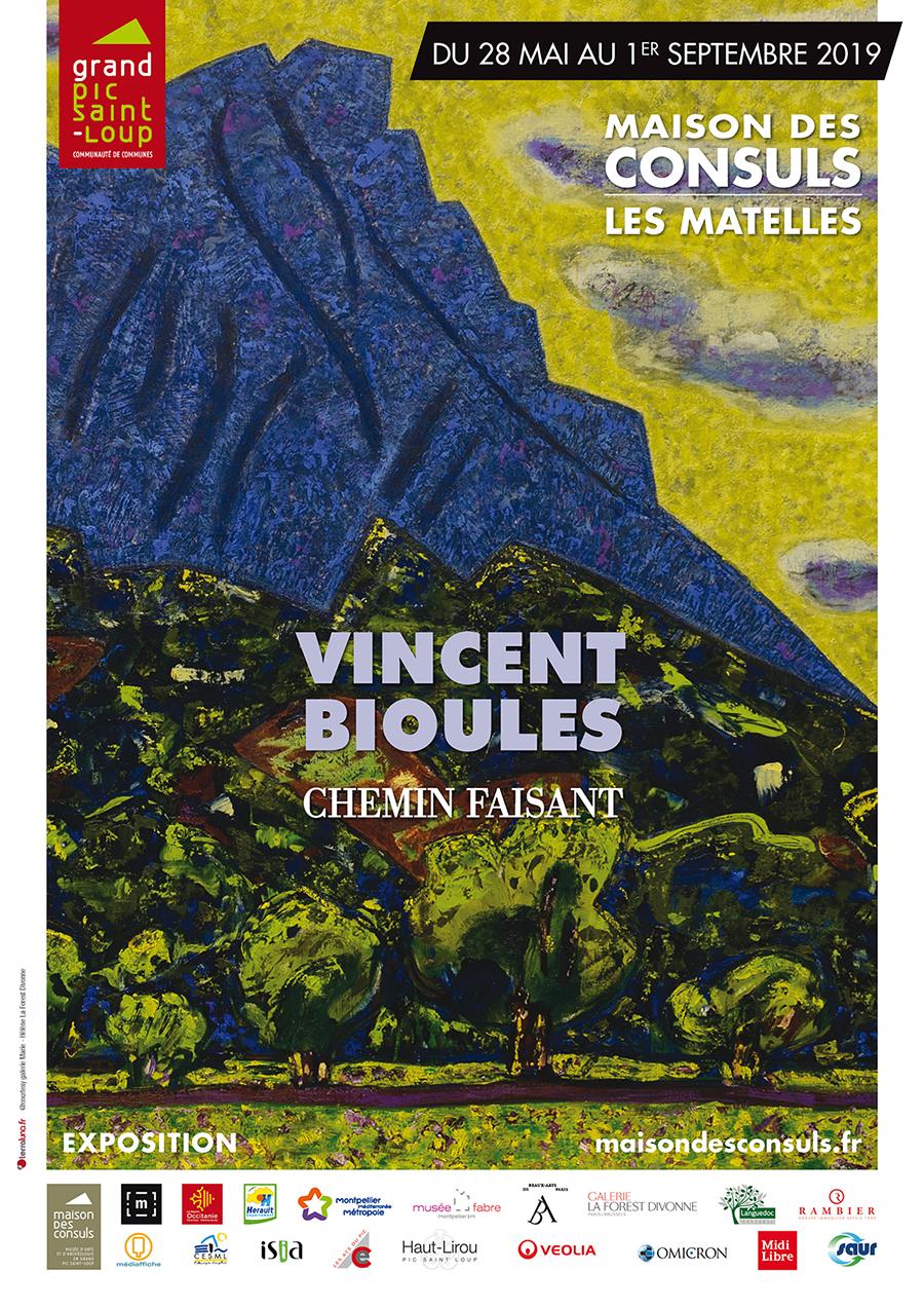 Exposition Vincent Bioulès aux Matelles