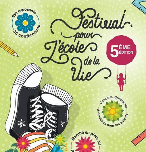 5ème édition du festival pour l'école de la vie