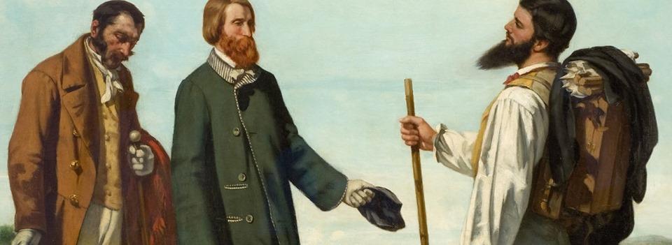 Début des cours de l'École du Louvre sur Courbet