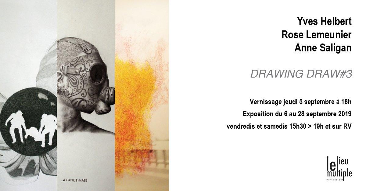 3ème édition de l'exposition Drawing draw