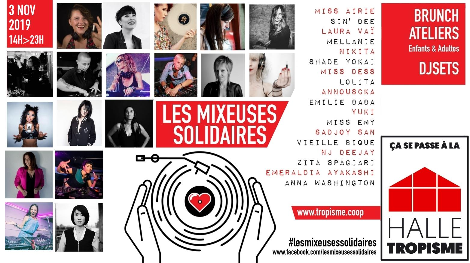"Les ""Mixeuses Solidaires"" contre les violences conjugales"