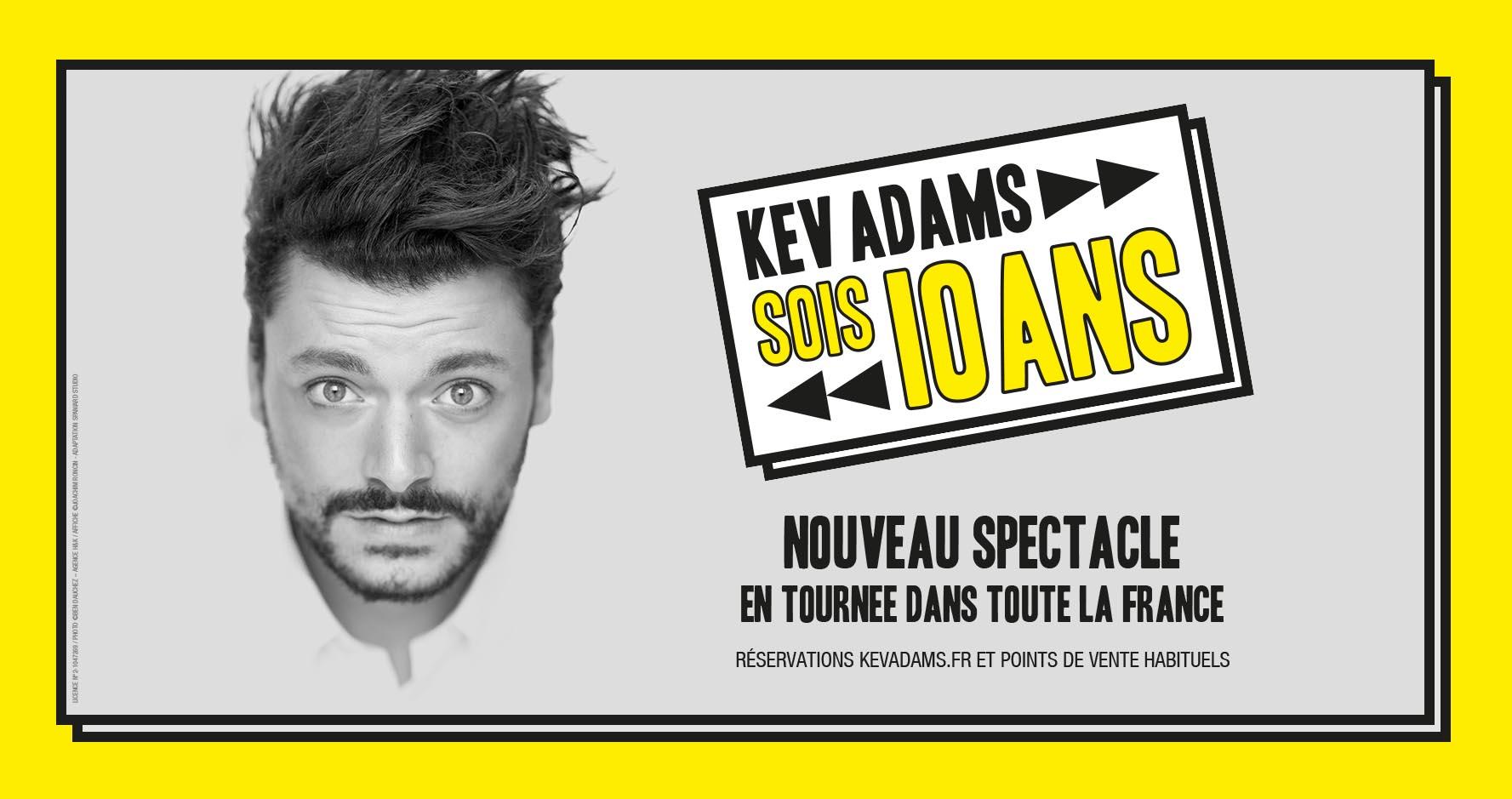 Kev Adams : show autobiographique