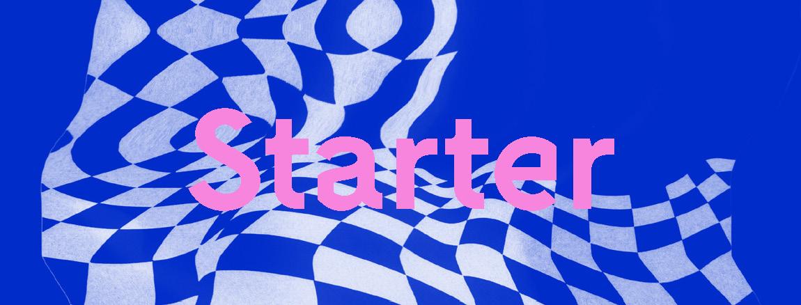 Sortie de Starter, le livre d'art des jeunes