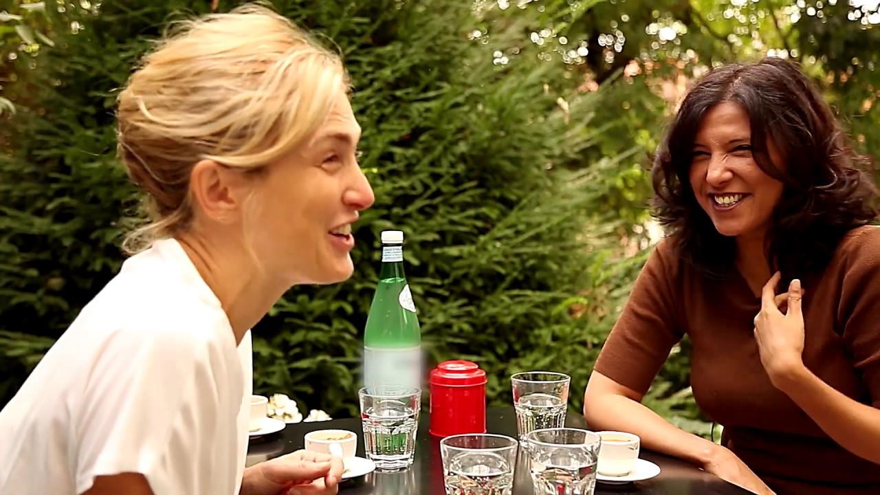 """Julie Gayet présente son documentaire """"FilmmakErs"""""""