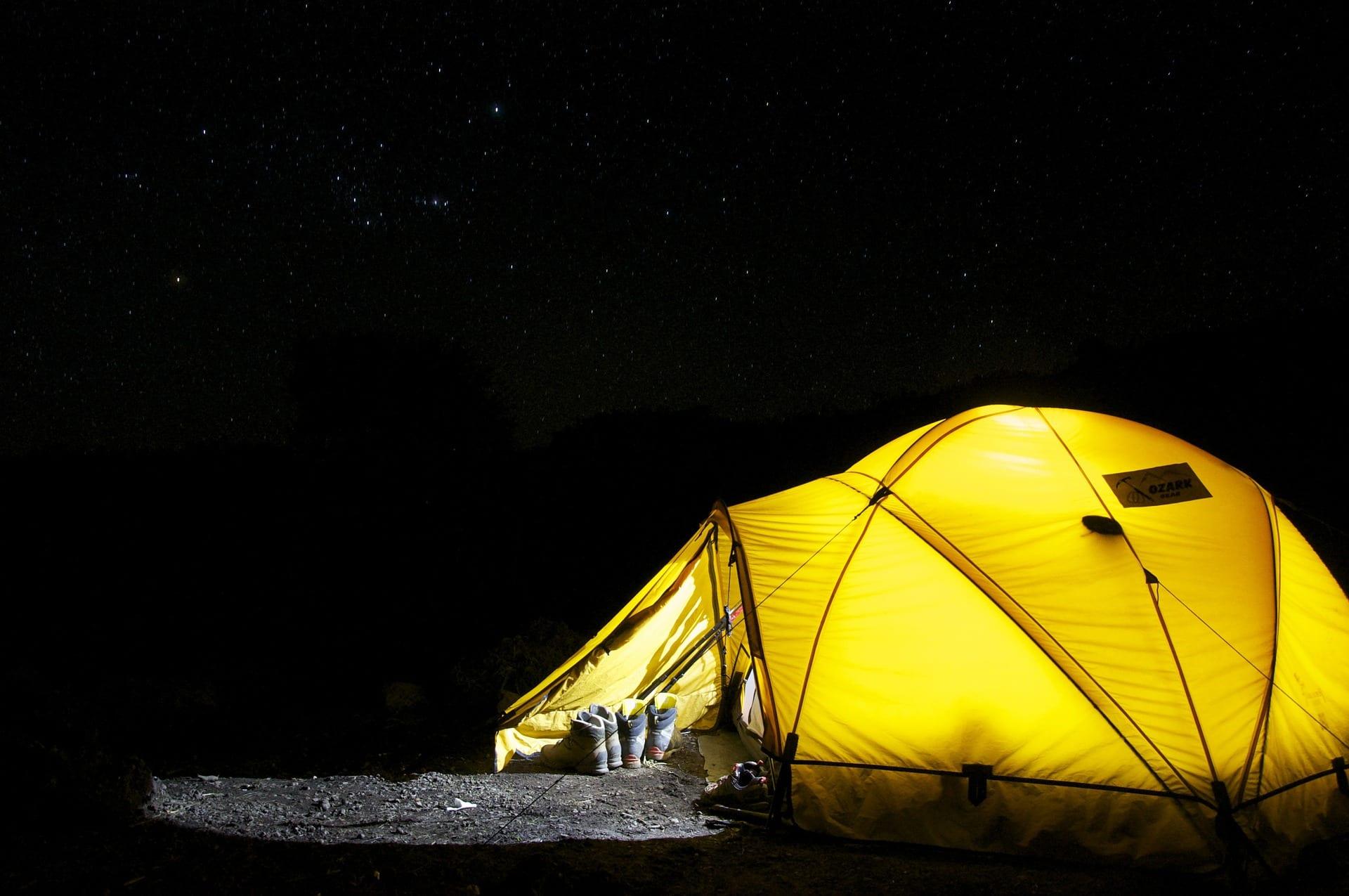Lommelykter til camping