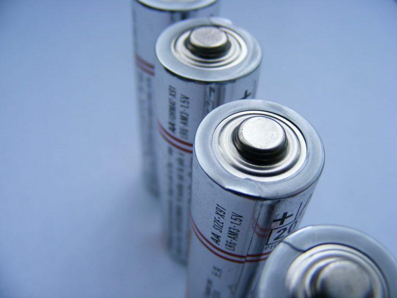 Batterier til lommelykter og hodelykter