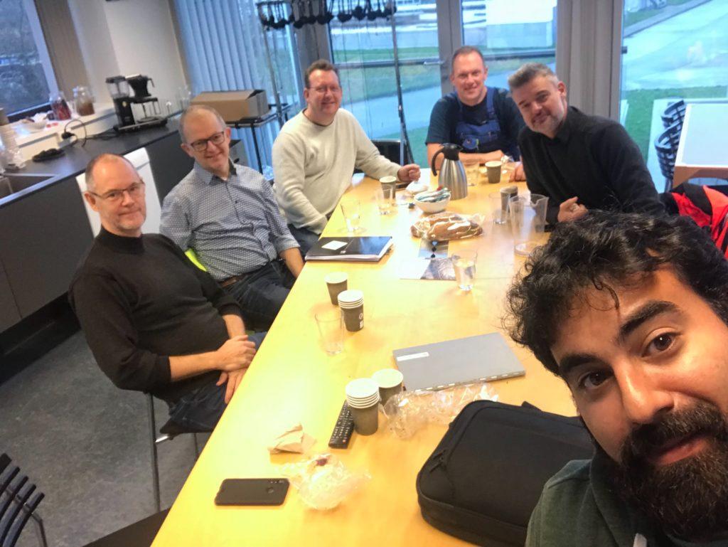 Intelligent Drones on mars meeting
