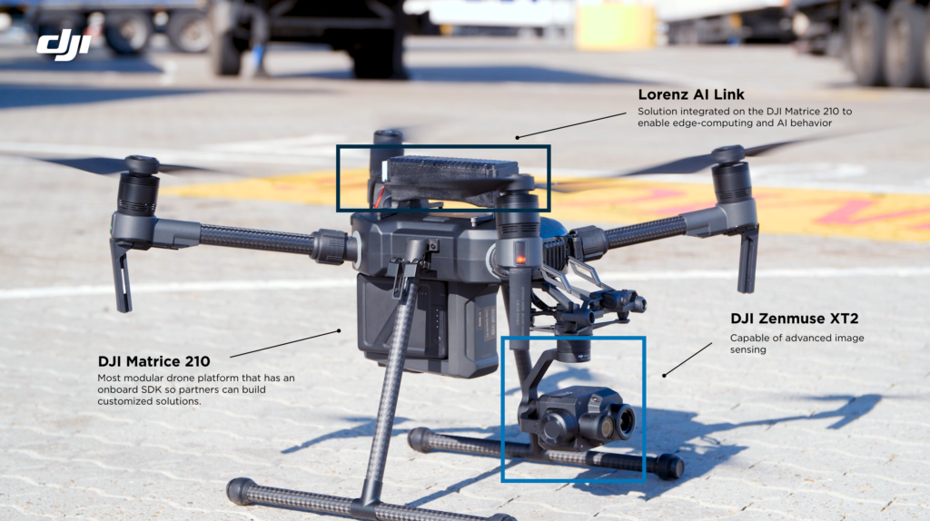 DJI + Lorenz Technology Solution