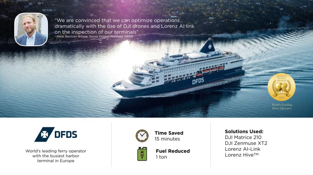 Deceting trailers on port terminals lorenz