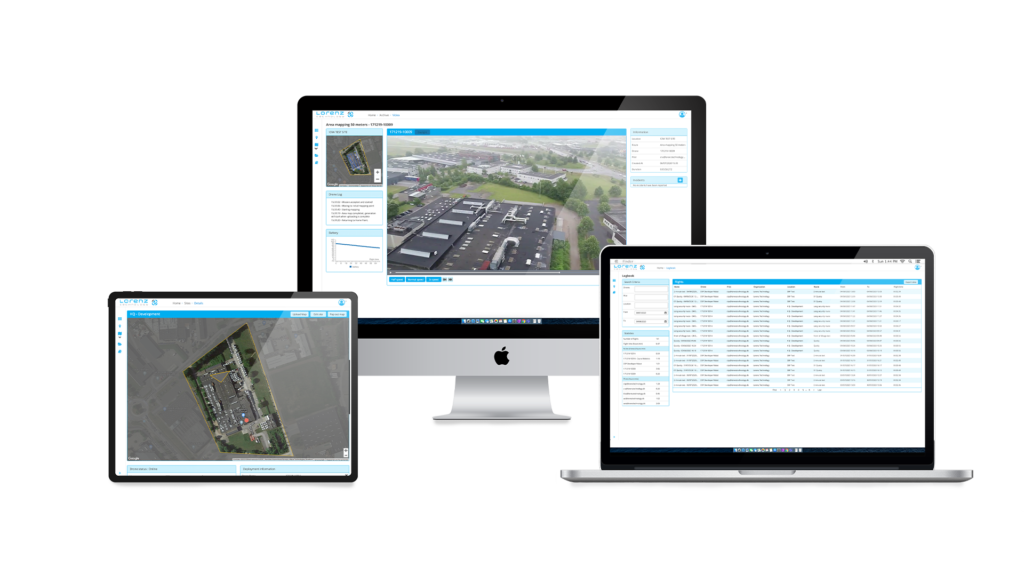 Intelligent drone solutions Lorenz Hive Showcase