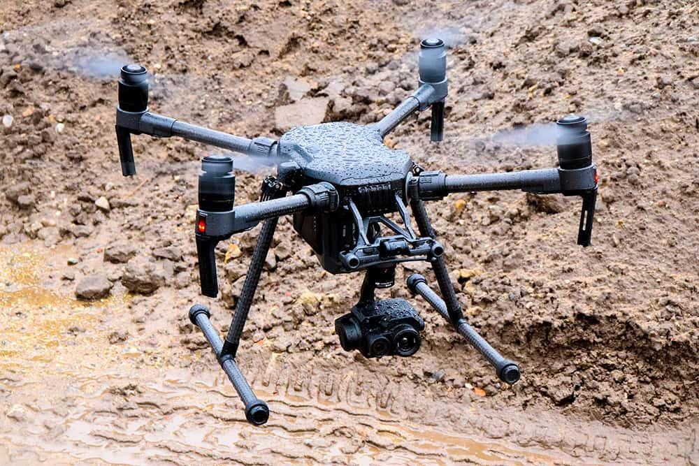 Intelligent Drones on mars
