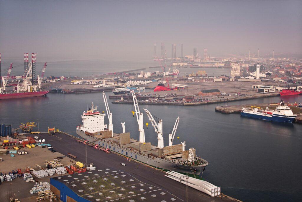Esbjerg Havn Intelligent drone solutions