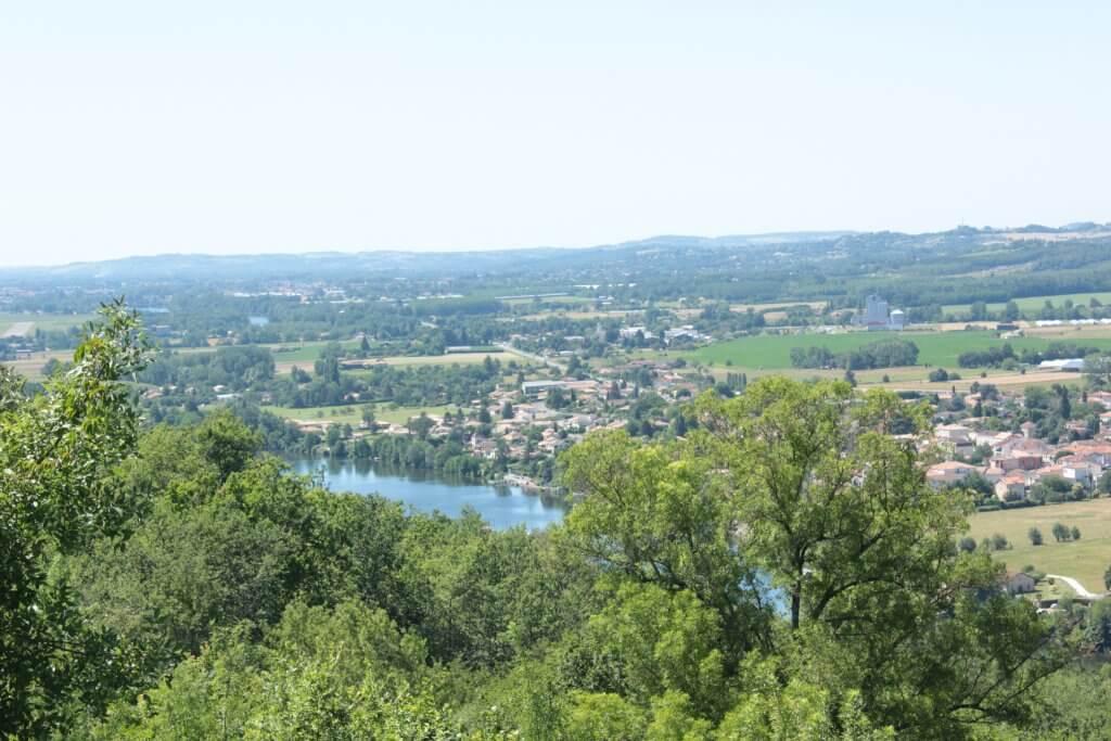 View from Penne d' Agenais