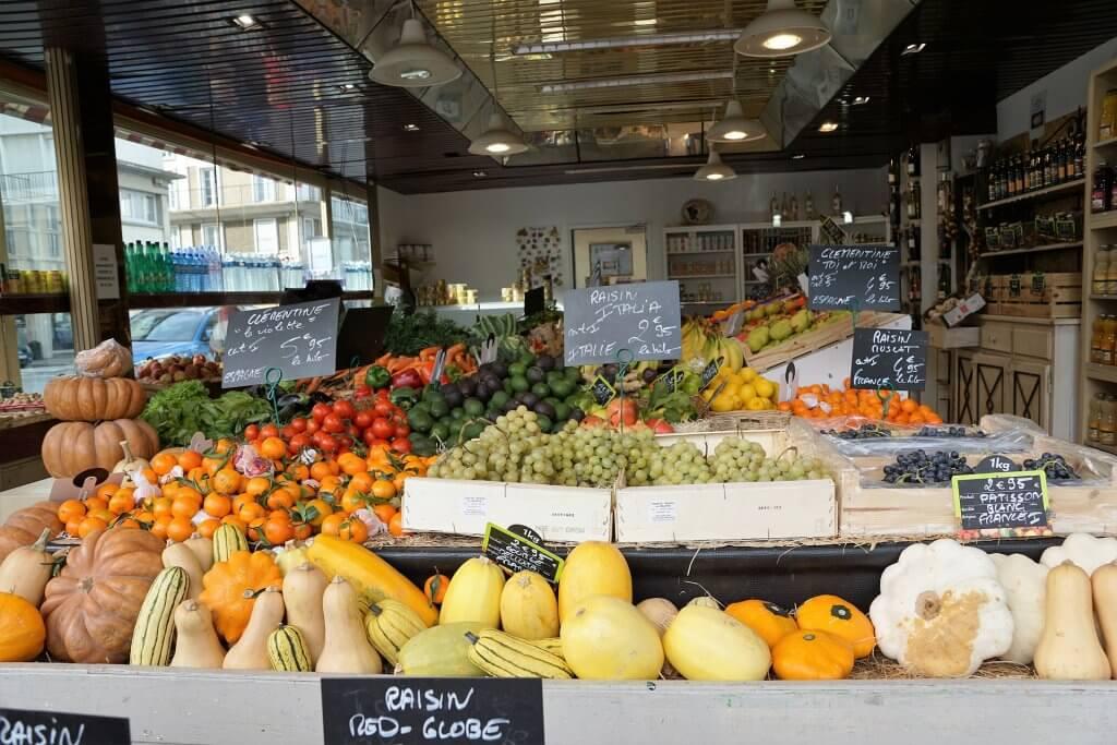 French produce market