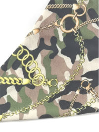 Army Chains close up