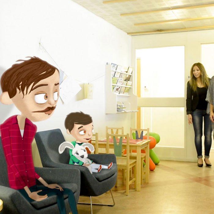 Hugo besöker Familjerättsbyrån