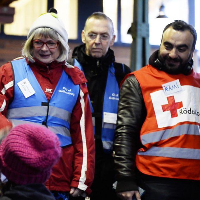 En film om flyktingmottagandet på Göteborgs Centralstation hösten 2015