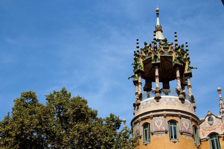 Bryllupsrejsen går til Barcelona
