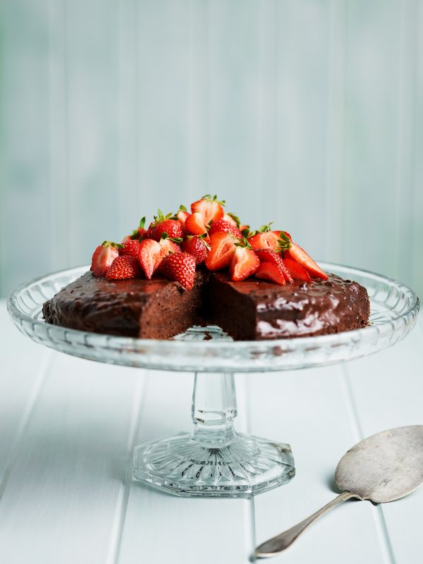 Chokladtårta ur kokboken Mativation