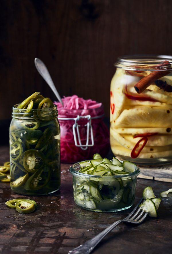 Blandat picklat The Barn