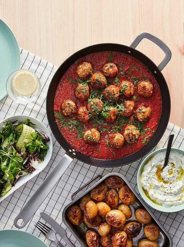 IKEA Världsklok Färsbullar i tomatsås