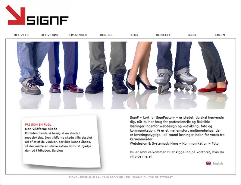 Signf webdesign