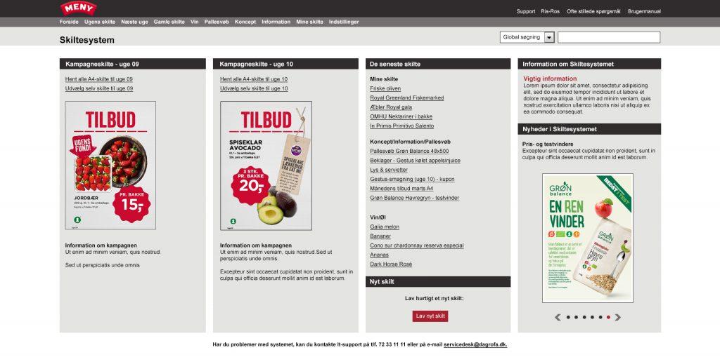 webdesign skiltesystem