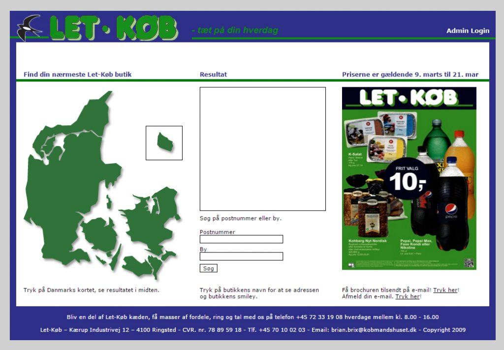 webdesign letkøb 2009