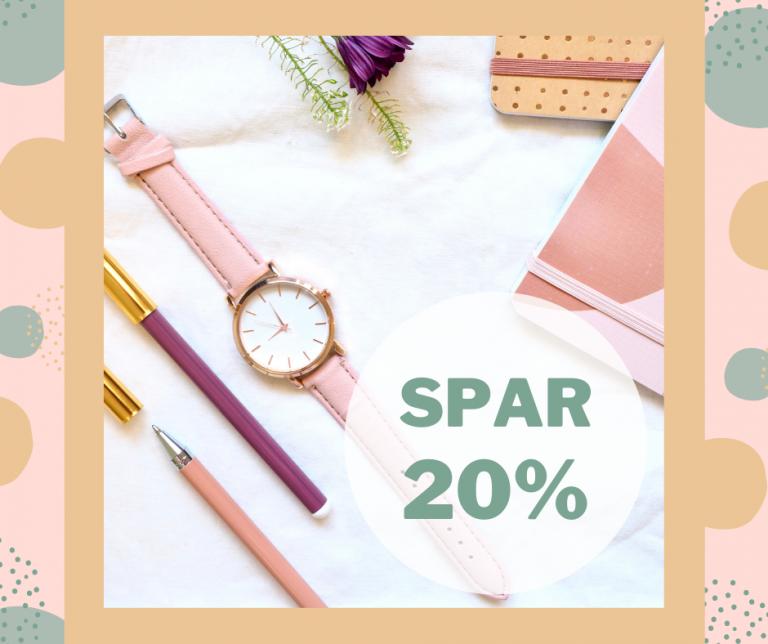 Spar 20%