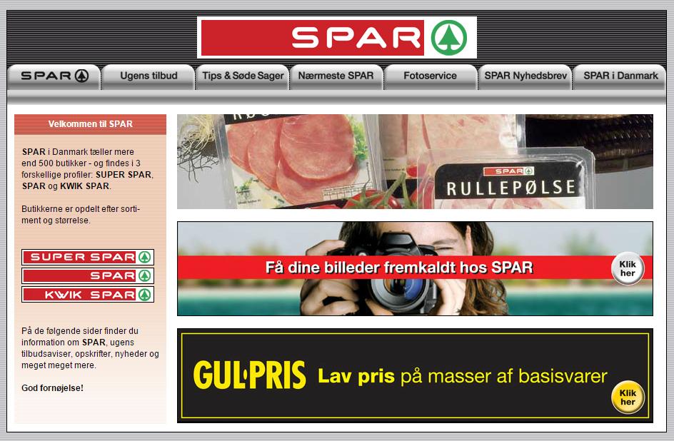 webdesign spar 2006