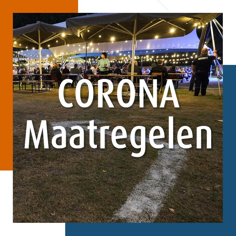 Lounge @ The Park - Corona Maatregelen